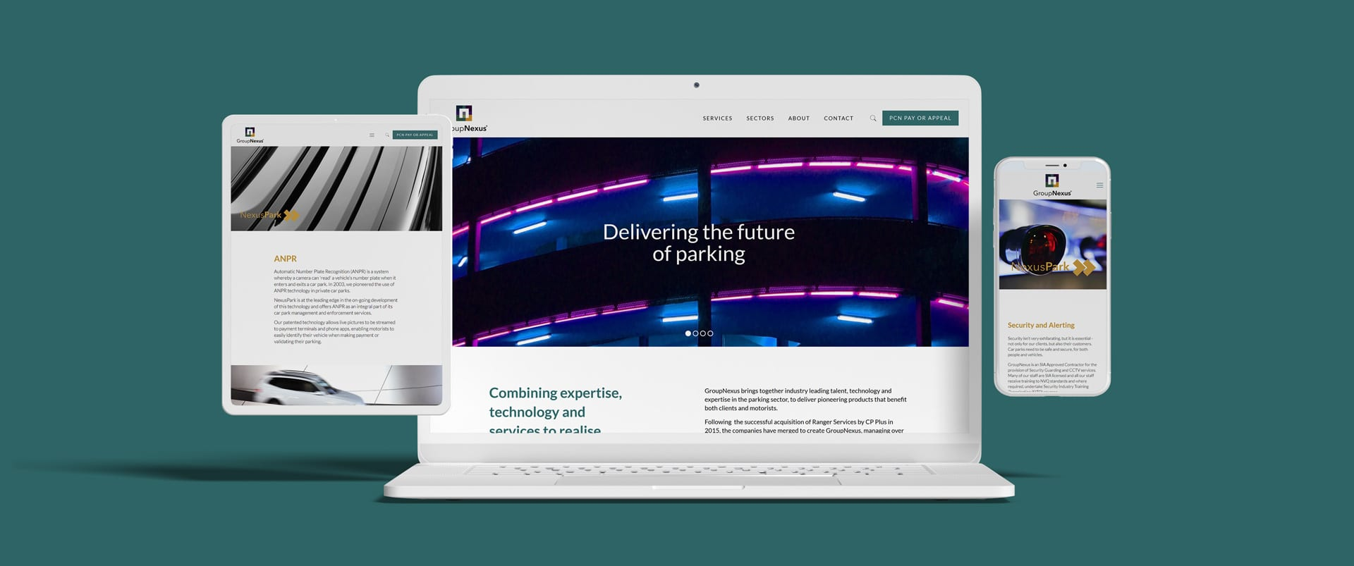 Car parking technology and management company GroupNexus